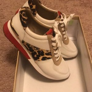 Michael Kors Leopard Sneakers Allie Trainer 8